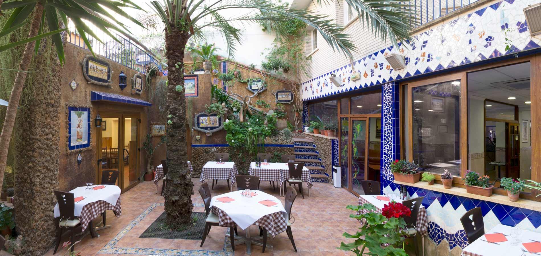 hotel fonda El Camí de Cambrils hotel familiar tranquilo y agradable