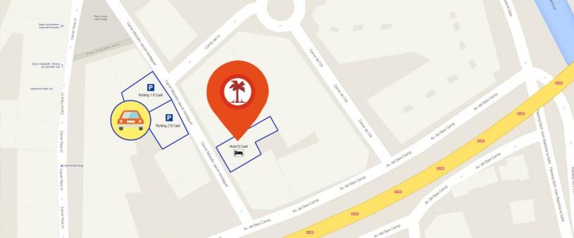 hotel fonda el camí cambrils parking