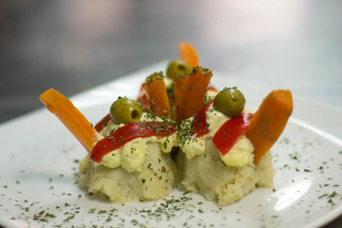 hotel fonda el camí cambrils restaurant rodones de patata amb allioli
