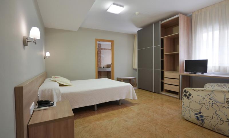 hotel fonda el camí cambrils habitación doble superior