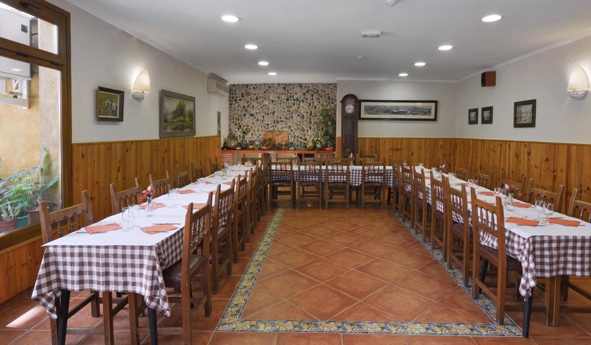 hotel fonda el camí cambrils restaurante sala privada