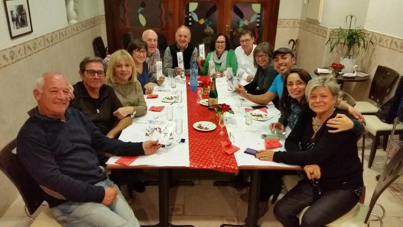 Hotel El Camí restaurant sopar amics nadal