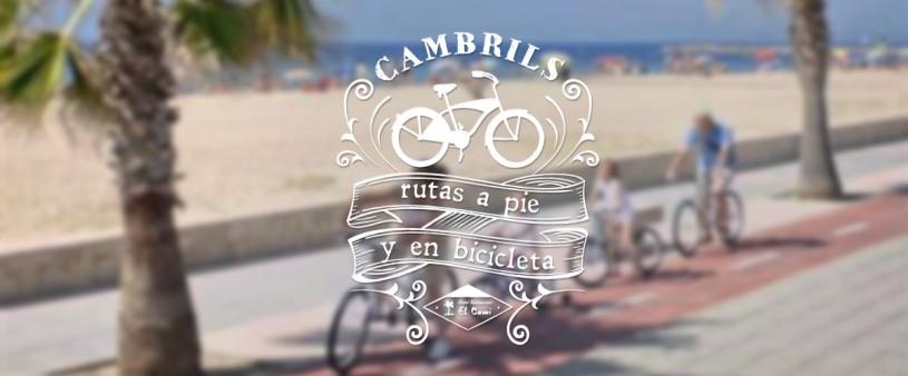 rutas a pie y en bicicleta por Cambrils